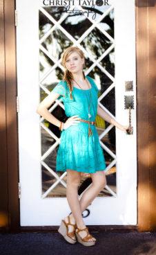 Teen-girl-door-reflection
