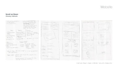 Seattle visual Designer showcases virta planning and wireframes