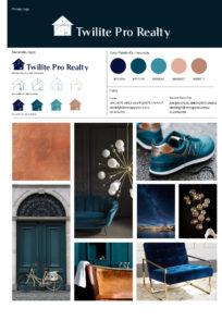 Twilite branding inspiration board